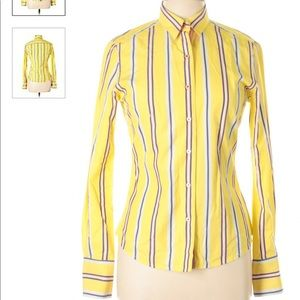 Robert Graham Long Sleeve Button-Down Shirt Sz 6